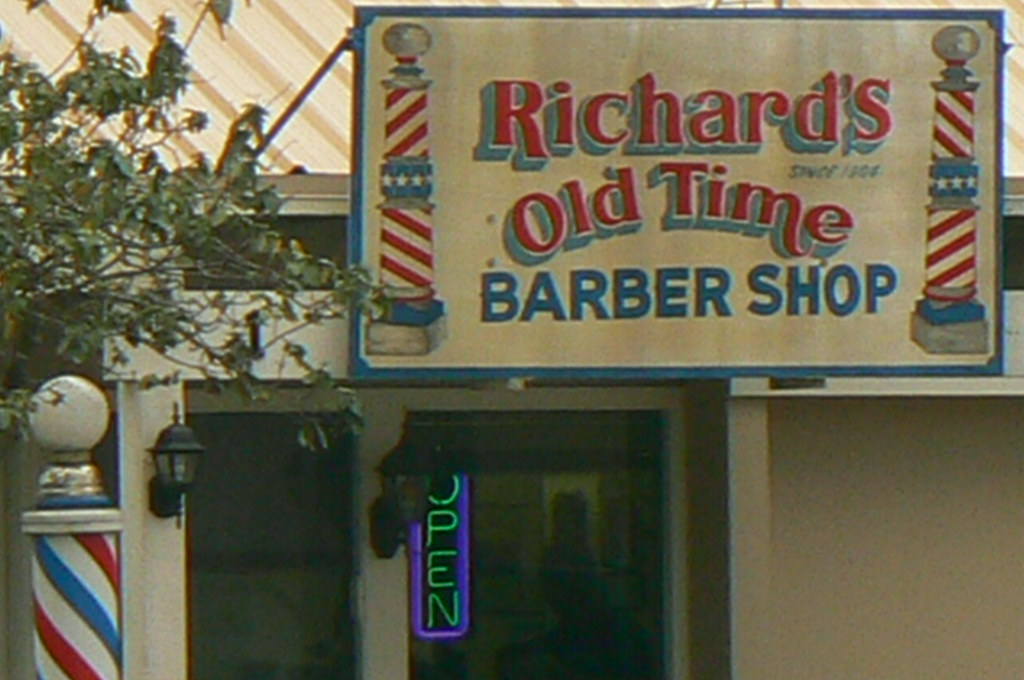 ... Old Time Barber Shop On Everhart in Corpus Chris? Flickr