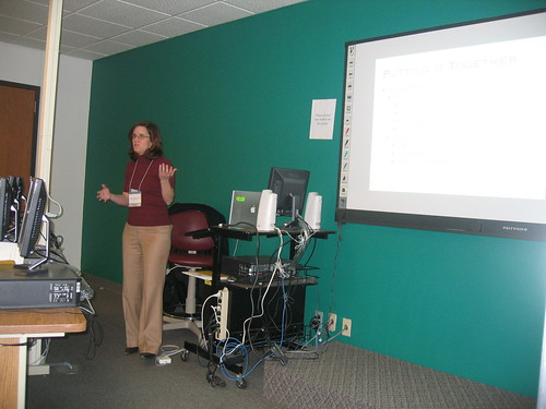 "Laura Blankenship's ""Social Software"" workshop"