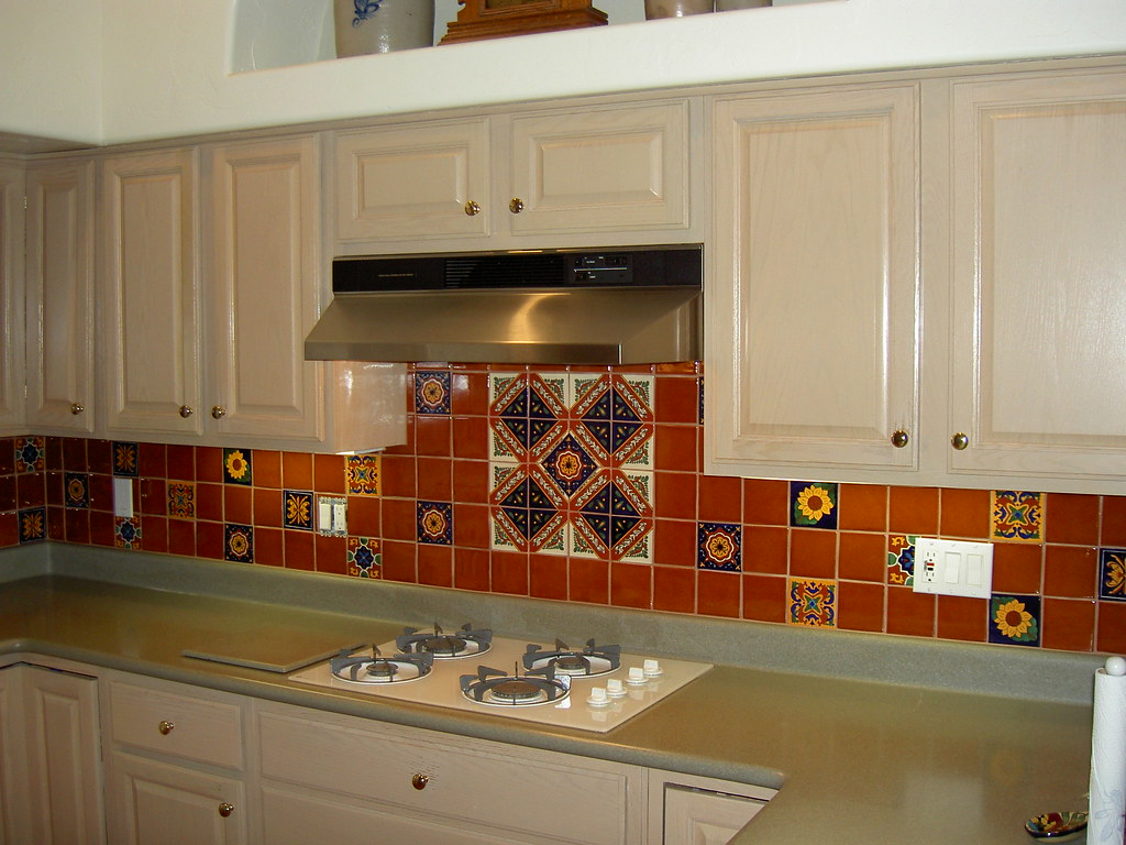 mexican tiles for kitchen backsplash mexican tile kitchen backsplash expressive tile flickr 9158