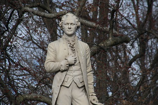 Alexander Hamilton Statue in Central Park (New York City) - February 18, 2017 | by cseeman