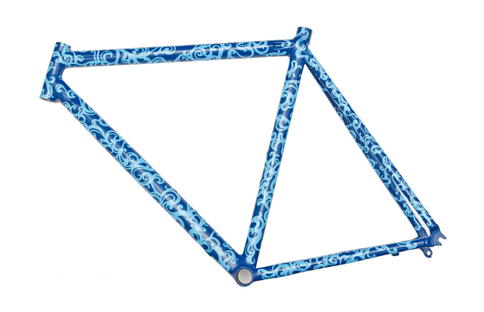 Custom Painted Bike Frame | This is a custom bike frame that… | Flickr