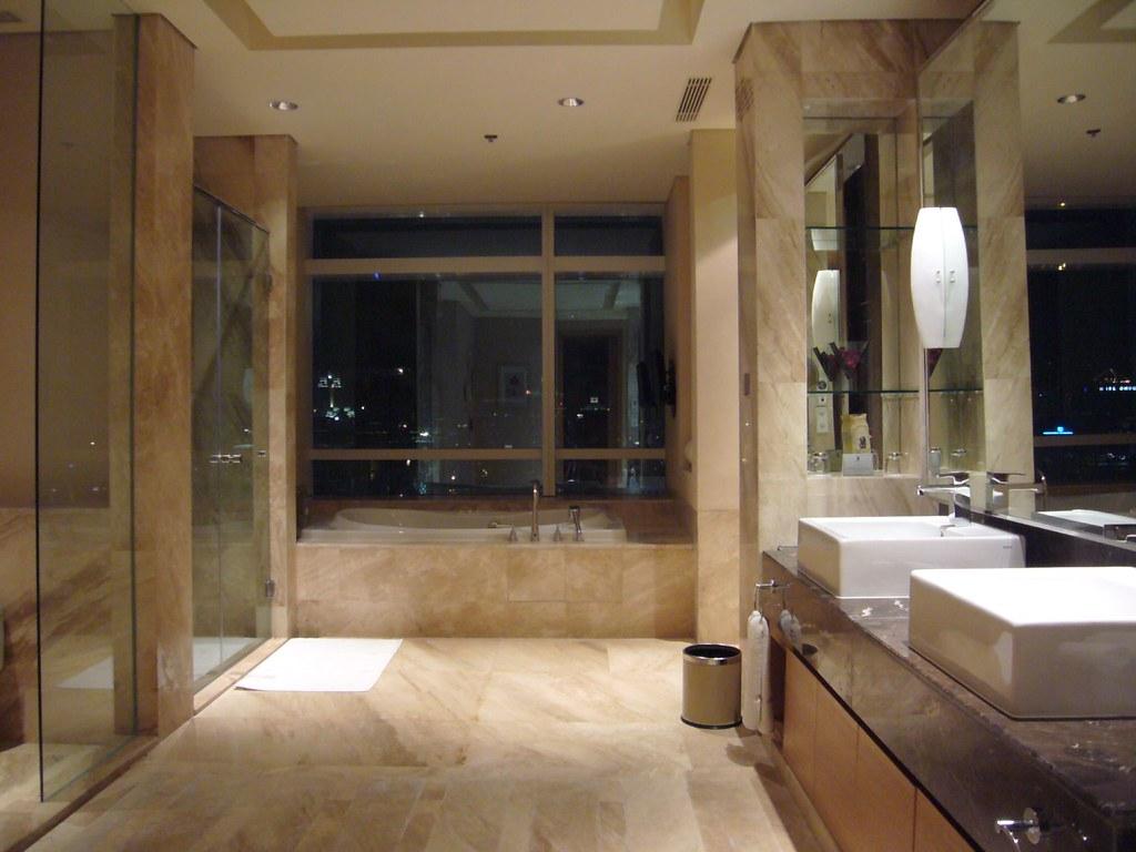 Ritz Carlton Pacific Place JakartaSpa King Suite BathroFlickr