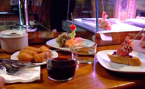 Pintxos at Taberna Txakoli in Madrid | by Tapas Talk