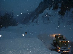 I-90 Clearing the Snow Slide | by WSDOT