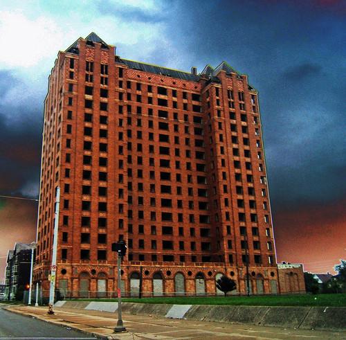 Abandoned Lee Plaza Hotel Detroit The Lee Plaza Sadly