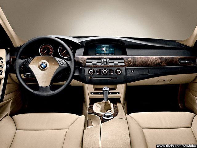 Bmw 5 Series E60 Interior Individual Dreamer Flickr