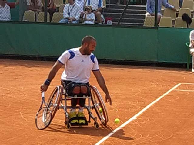 Mickael Jeremiasz, French Open 2007