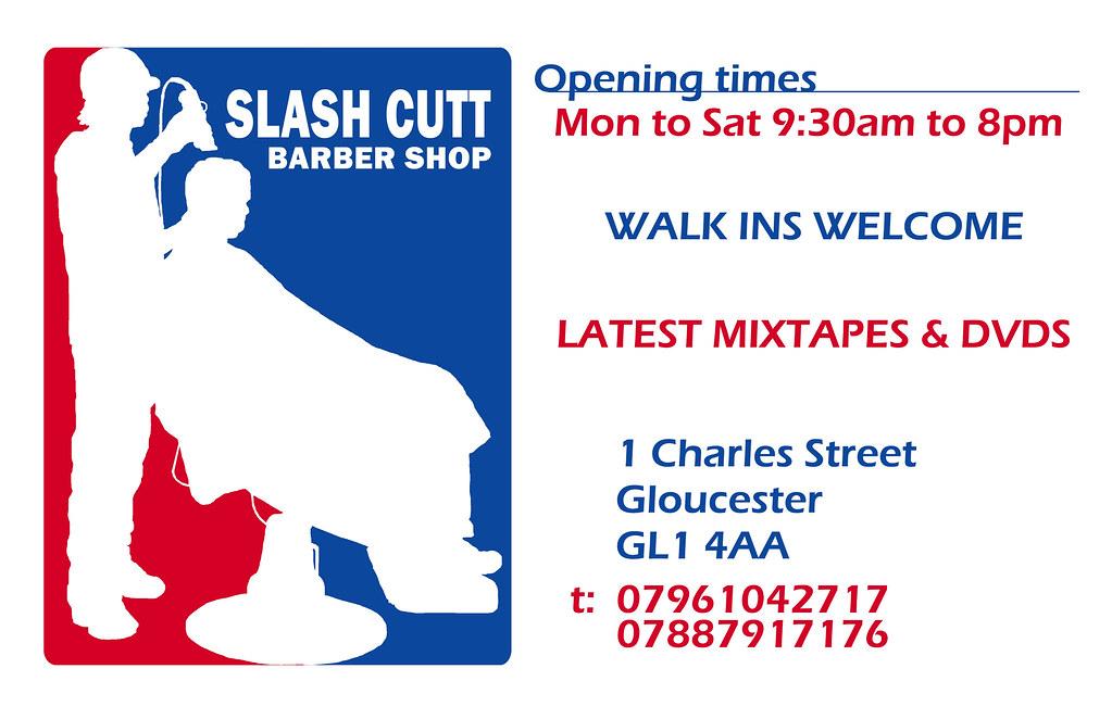 Slash Cutt Barber Shop Business Card | joe go2 | Flickr