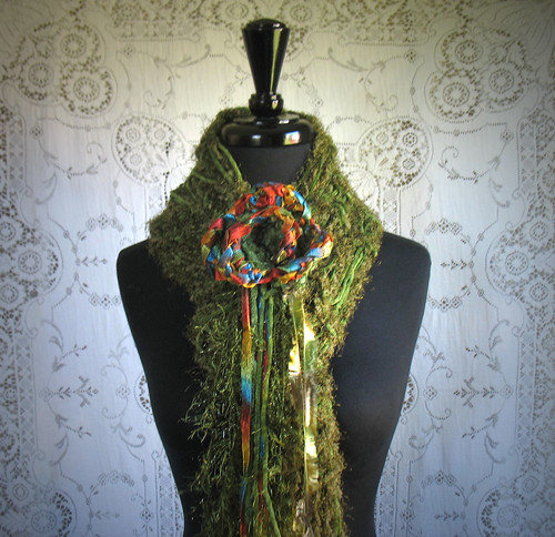 Autumn Flourish Scarf | by nandahandcrafted