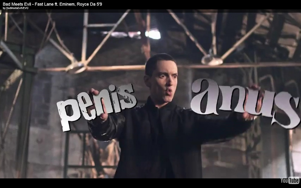 eminem penis anus | And no this is not a photoshopjust