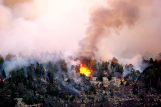 Grand Canyon North Rim fire | by Al_HikesAZ