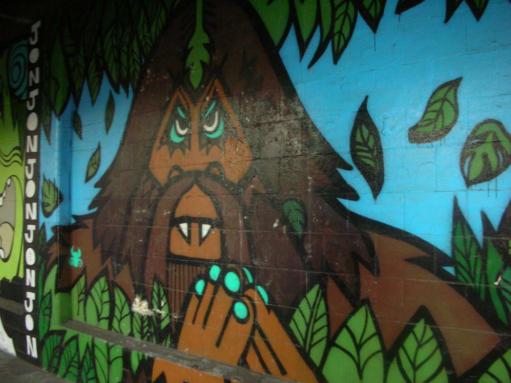 Yokohama graffiti wall - Yokohama Graffiti Wall 31