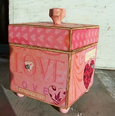 For the Love of Pink Altered Box | by Out on a Whim Studio