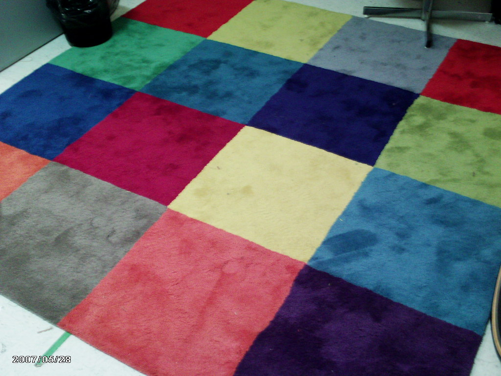 Ikea Uldum Multi Colored Square Rug 2 Purchased In Oct