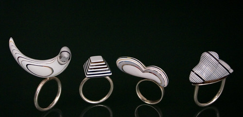Recycled Material Rings | by tabithaott