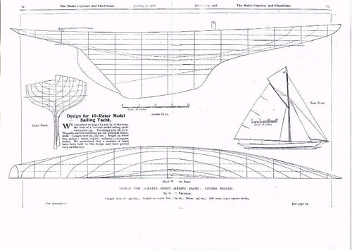 Model Sailing Yacht Plans | Flickr - Photo Sharing!