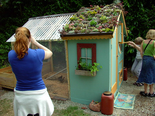 free green roof chicken coop plans chicken house plans