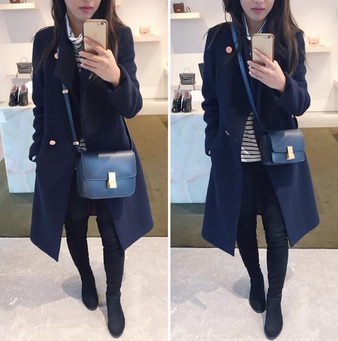 celine box mini bag review shopping in paris france