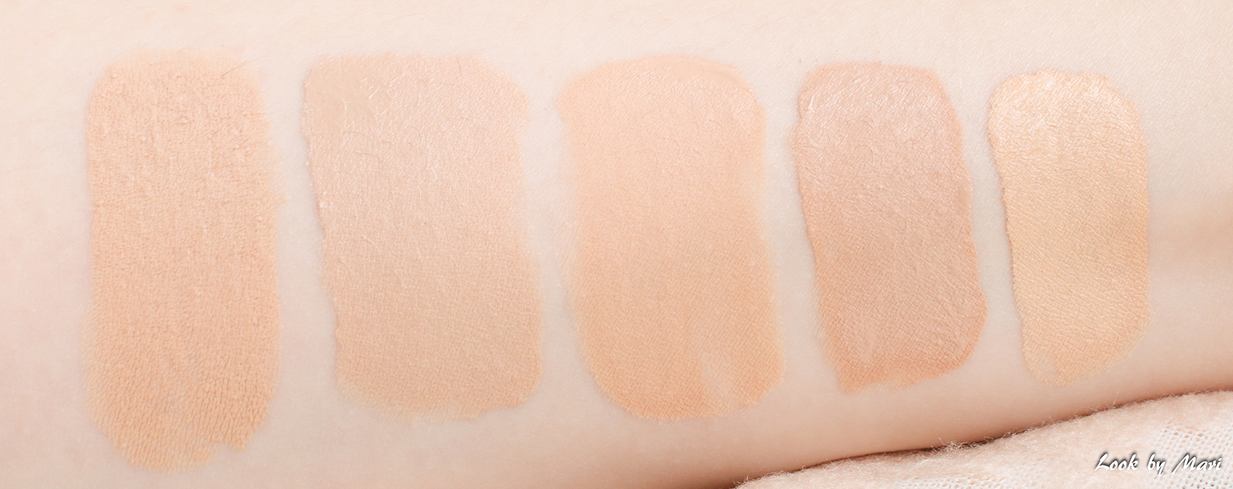 6 light foundation shades colors which foundation