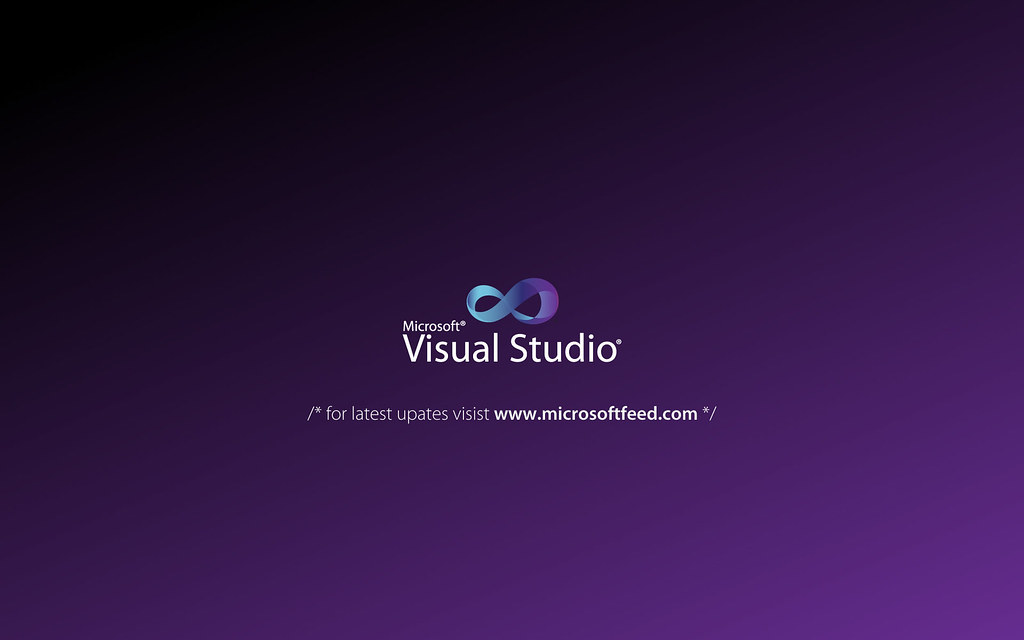 Visual Studio 2010 Wallpaper 01