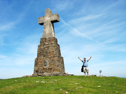 Cross on the Summit of Saibi - Basque Country, Spain | by Batikart