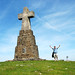 Cross on the Summit of Saibi - Basque Country, Spain