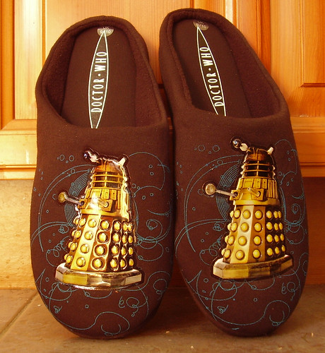 Pair Of Dalek Slippers | by Cameron K McEwan