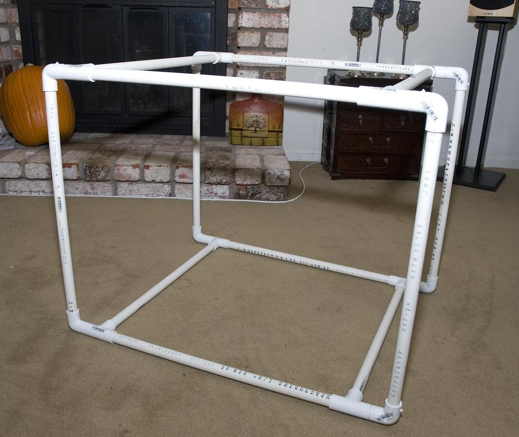 ... DIY Light Tent PVC Frame | by Randy Wentzel Photography & DIY Light Tent PVC Frame | Randy Wentzel Photography | Flickr