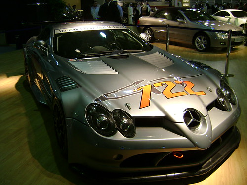 SLR Mclaren (from angle) | by Damon | Photography