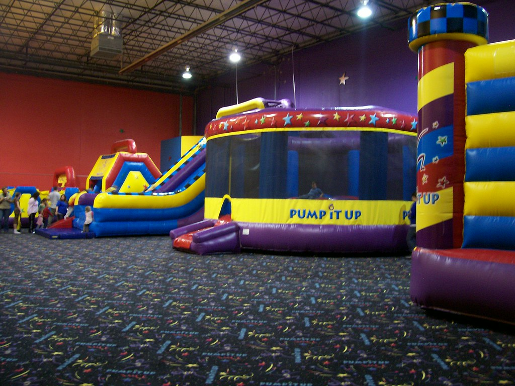 Pump It Up! | JAN 5-This evening I went to a kid's ...