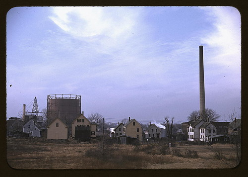 Industrial town in Massachusetts, possibly New Bedford  (LOC) | by The Library of Congress