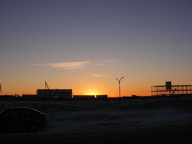 Coucher du soleil sunset a roport de montr al p e - Coucher de soleil montreal ...