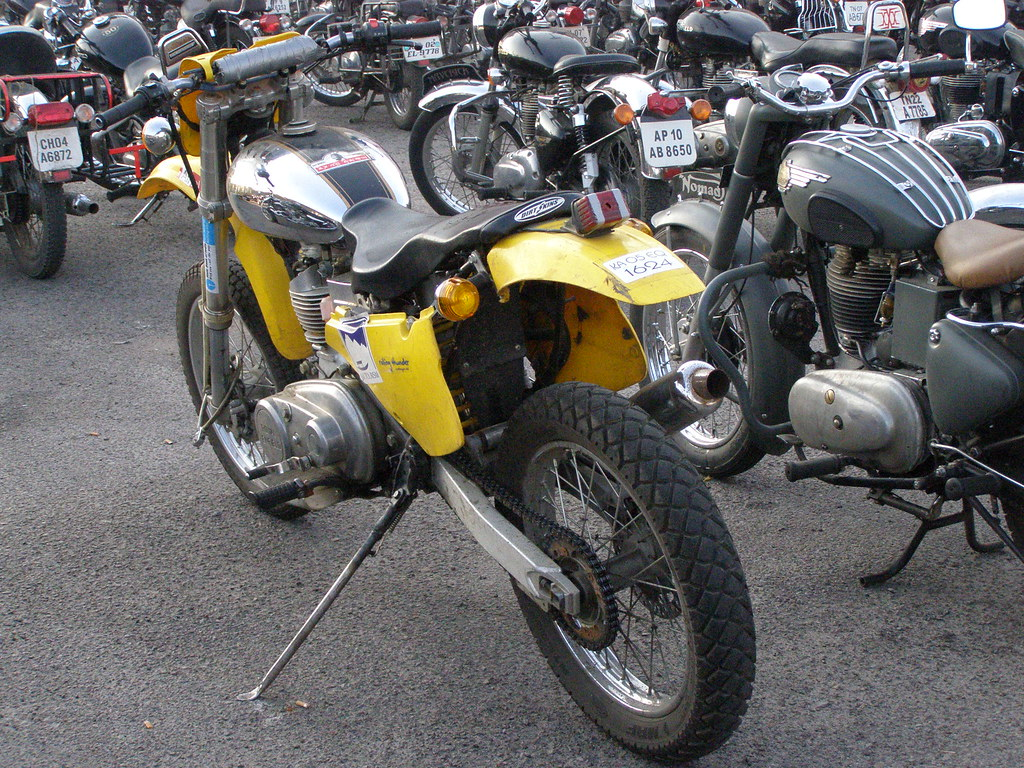 bullet modified to a dirt bike ryt2ram flickr