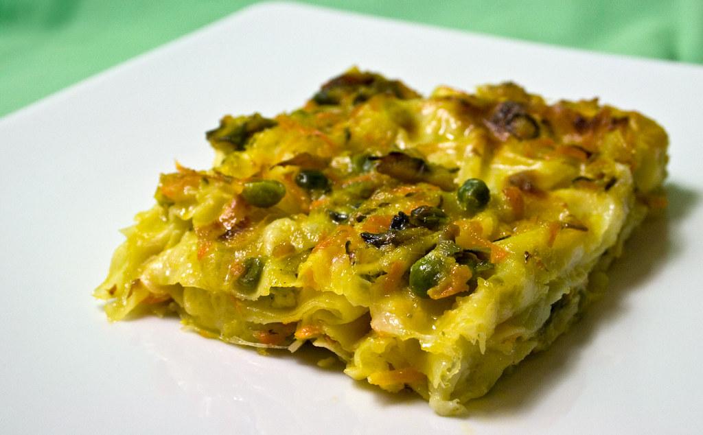 Lasagne con pasticcio di verdure la ricetta puoi for Ricette vegetariane