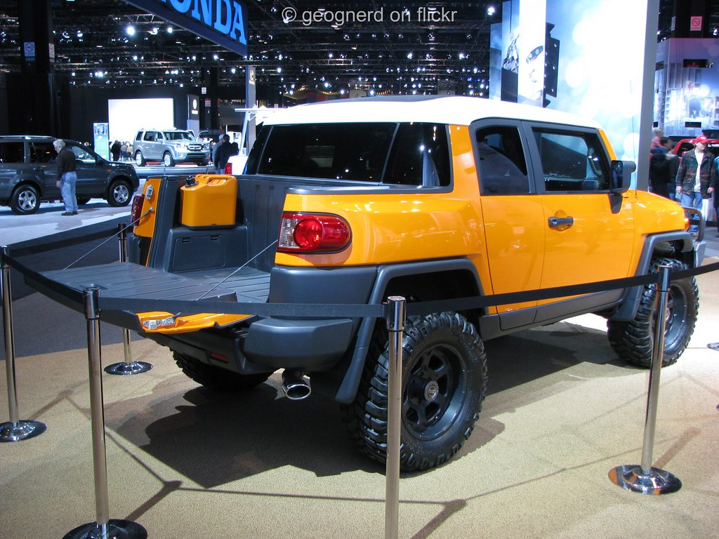 ... Toyota FJ Cruiser Convertible | By Geognerd