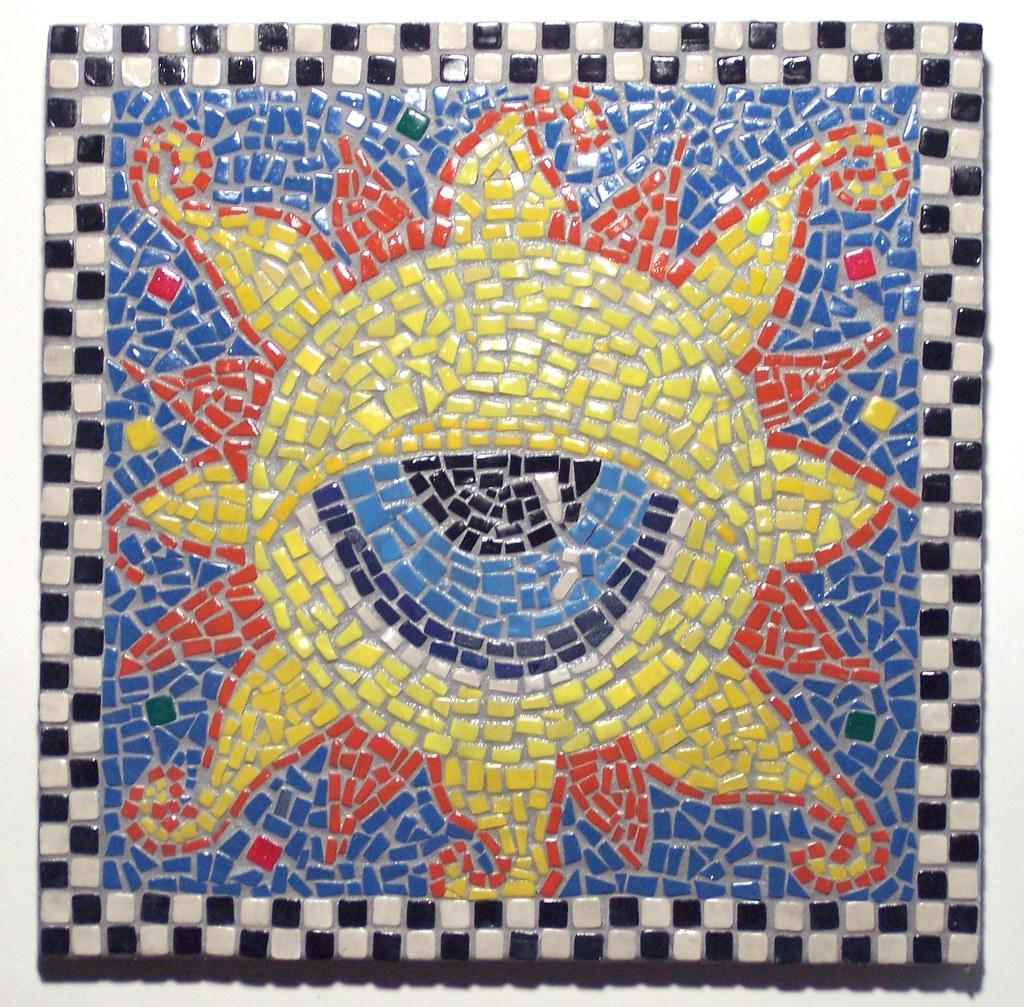 Eye in the Sky Mosaic Wall Art | Eye in the Sky All tiles ar… | Flickr