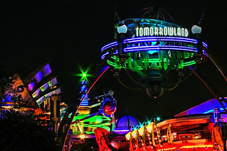 Disney - Tomorrowland At Night | by Express Monorail