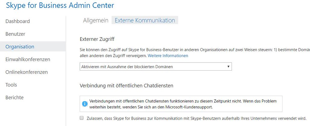 Office 365 Deutschland: Kein Skype for Business mit Skype