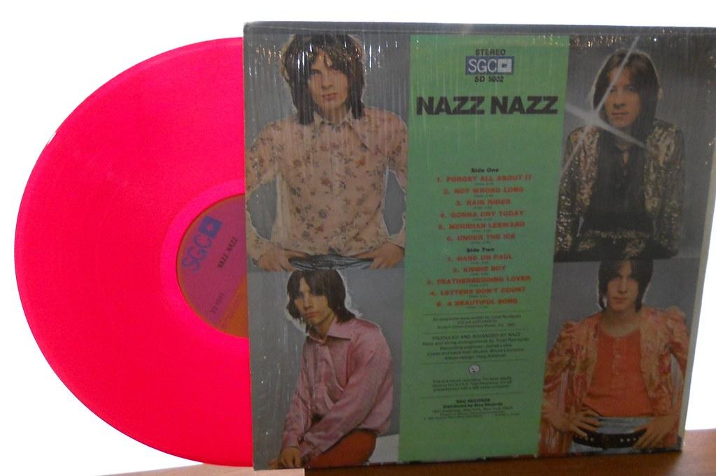 Nazz Nazz Vinyl Red Vinyl Photos For Miss Sharon