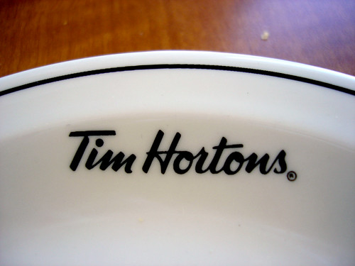 Tim Hortons Plate | by ronnyg