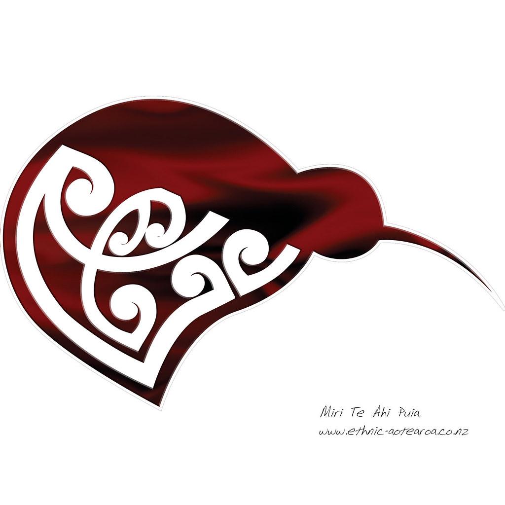 Maori Kiwi Tattoo: Maori Art - Kowhaiwhai Kiwi