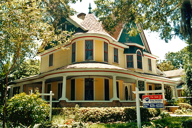 Victorian Queen Anne House Sanford Florida