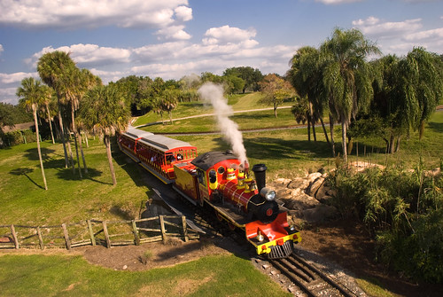 Busch Gardens Train | by Etrusia UK