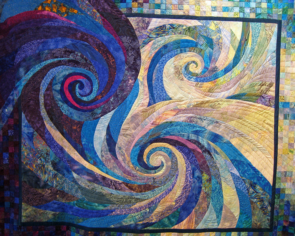 Whirlpool Joy A Very Unique Quilt One Of Many That