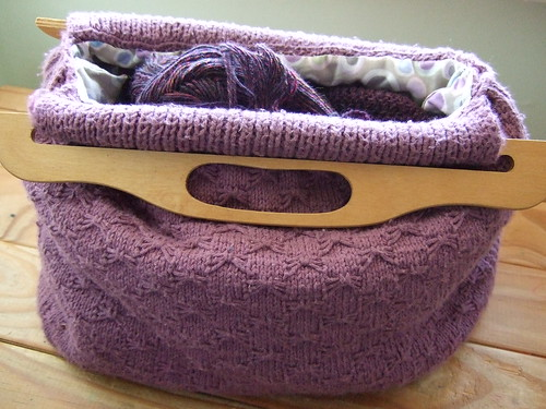 Knitting Pattern Storage Bag : knitting bag This pattern is now available on my blog ...