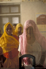 Women queuing at a dispensary window | by World Bank Photo Collection