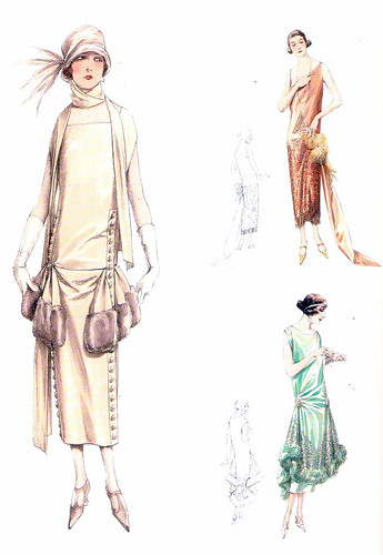 Atelier Bachwitz 1925 fashion plate | by starduste