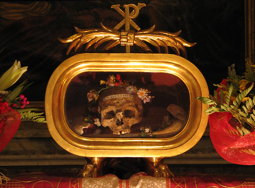 St Valentine's relics in Rome | by Lawrence OP