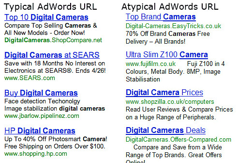 Google Flips AdWords URLs | by rustybrick