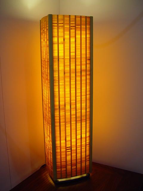 ... Brian Schmidt/ Adapt Bamboo Floor Lamp | By Inhabitat